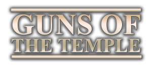 GUNS OF THE TEMPLE LOGO