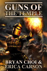 Guns of the Temple for e-book